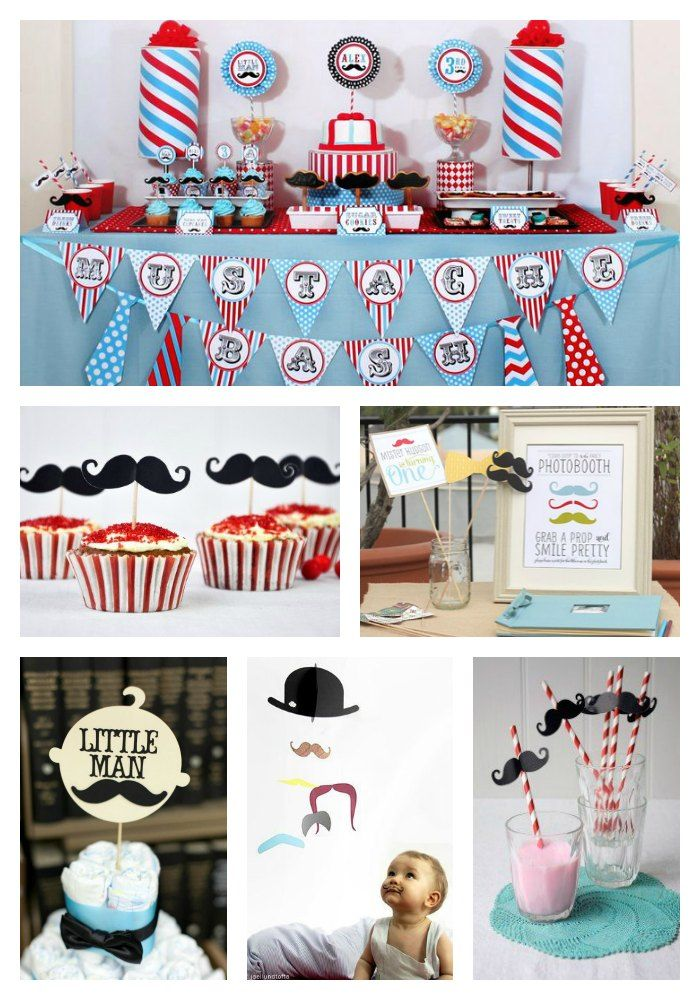 un th me moustache pour un anniversaire d 39 enfant so british le blog de modern confetti. Black Bedroom Furniture Sets. Home Design Ideas