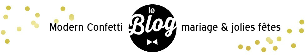 Le blog de Modern Confetti