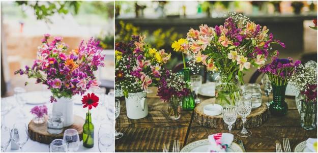 Un mariage gipsy, champêtre et vintage