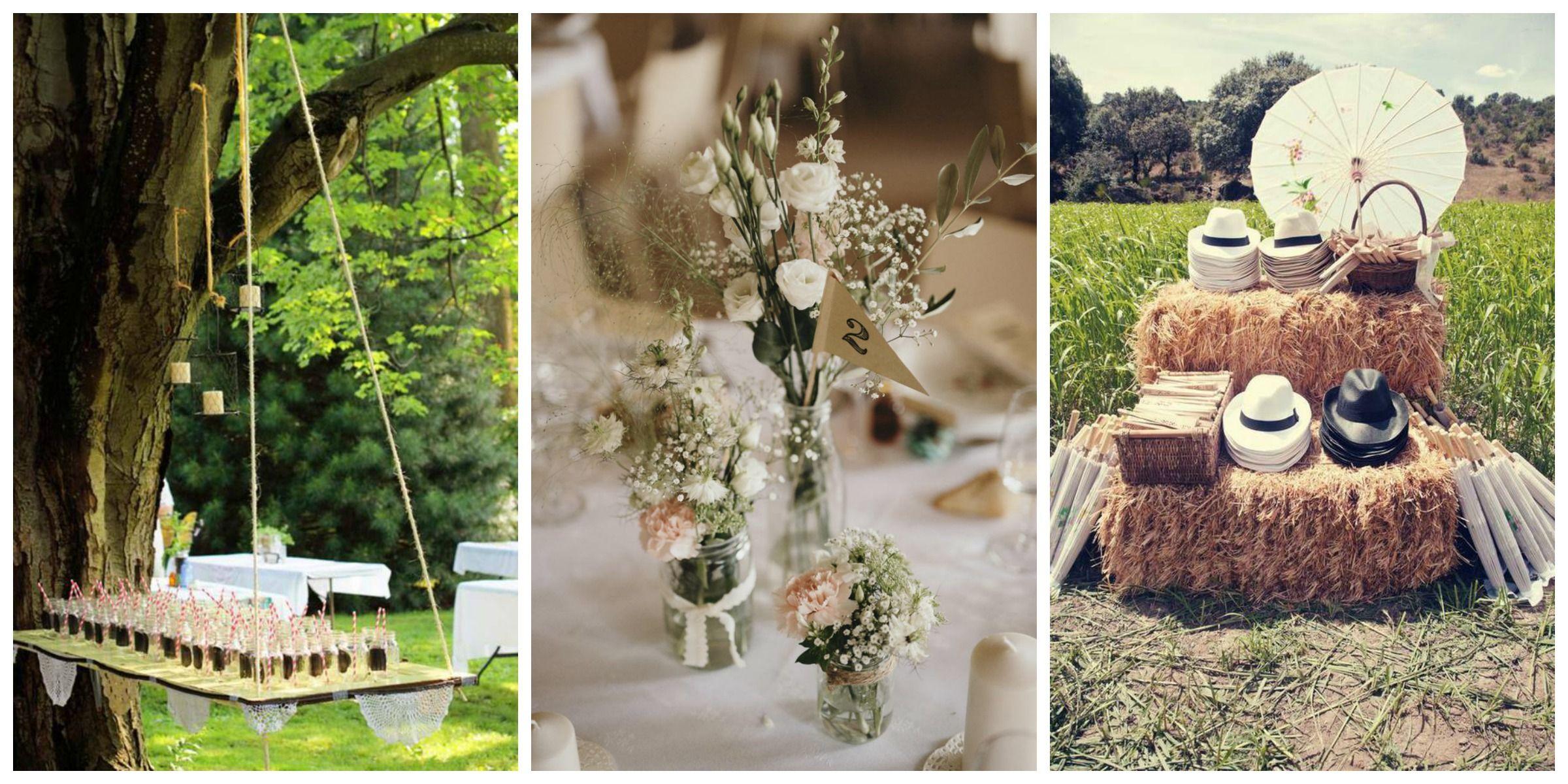 Assez Idée décoration mariage champetre - Mariage Toulouse OG83