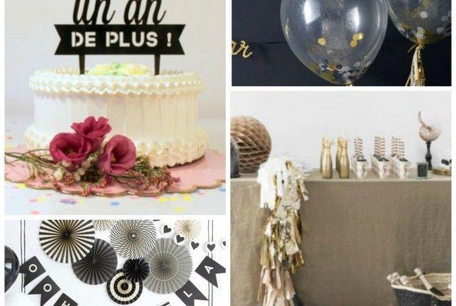 Anniversaire Noir Et Blanc Archives Le Blog De Modern Confetti