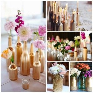 DIY wedding bottle
