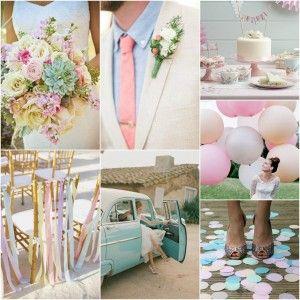 Un mariage pastel